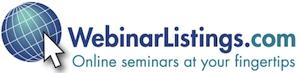 WebinarListings.com logo