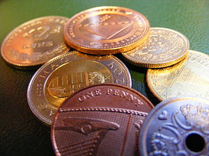 English: Coins from Bosnia, Slovenia, Hungary,...