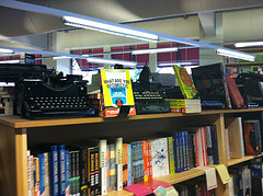 Old Typewriters @ Powell's Books