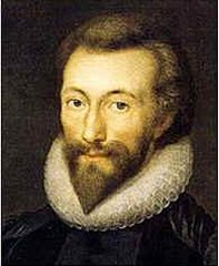 John Donne, one of the most famous Metaphysica...