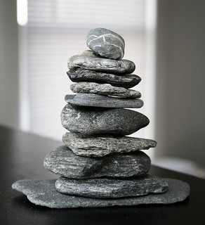 Zen Beach Stones at Home